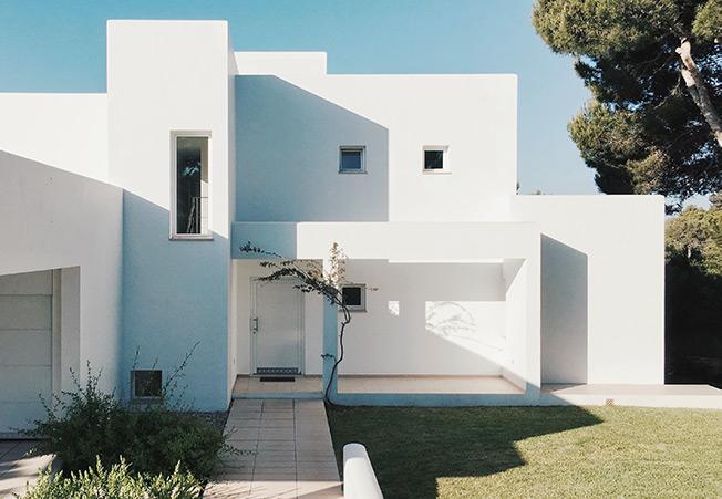 construction neuve de villas à Aubagne