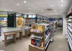 rénovation d'une pharmacie